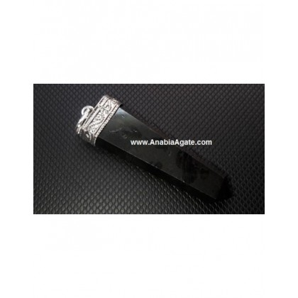 Rose Quartz Flat Stick Pendant