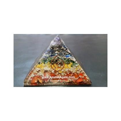 Orgone Chakra Layer Pyramid