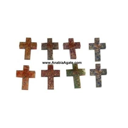 Orgone Cross Pendants