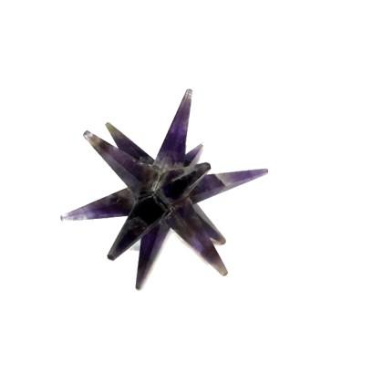 AMETHYST 12 POINT STAR