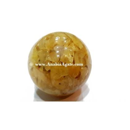 Yellow Aventurine Orgone Balls