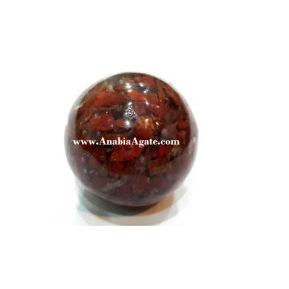 Red Jasper Orgone Balls