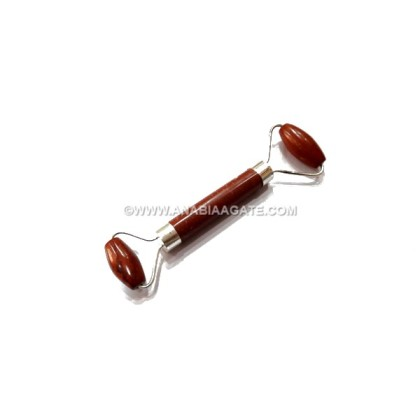 RED JASPER FACE MASSAGE ROLLER (FACIAL MASSAGE ROLLER)
