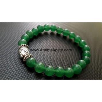 GREEN AVENTURINE BUDDHA BRACELET