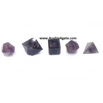 AMETHYST 5PCS GEOMETRY SET