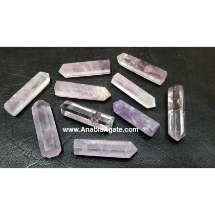 AFRICAN AMETHYST SINGLE TERMINATED PENCIL POINTS