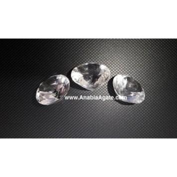 CRYSTAL QUARTZ DIAMOND
