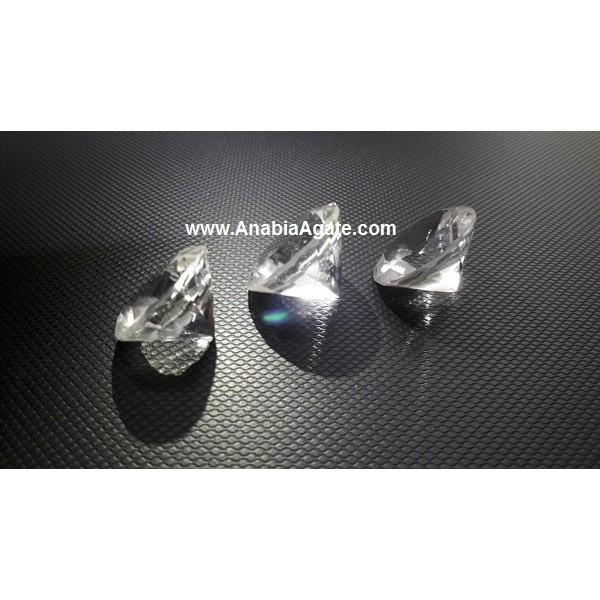 CLEAR QUARTZ DIAMOND